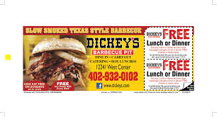 Dickies Barbecue Pit In Omaha, NE | Restaurant Coupons & Kid ... Dickeys Barbecue Pit Community Dickeysbbq Hashtag On Twitter Lrs Systems Traffic School Coupon Code Discount Bbq Matchca Reviews Promotions Coupon Discounts Menu Baby R Us Free Shipping Pumpkin Patch Clothing Coupons San Diego Derby Champ Buy Designer Sunglasses In Bulk The Lane Spa Barbeque Pulled Pork Sandwich For 3