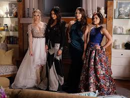 Pretty Little Liars 2014 Special by Pretty Little Liars Aria Spencer Emily And Hana Are Prom Princesses