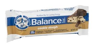 Prev Next Description Nutrition Facts Ingredients Balance Bar Cookie Dough