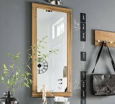 spiegel mit rahmen aus eiche wildeiche