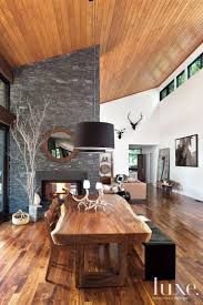 Rustic Dining Room Ideas Pinterest by Best 25 Contemporary Rustic Decor Ideas On Pinterest Rustic