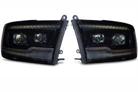 100 Build Your Dodge Truck 20092018 Ram LED Headlights Complete Ram Projector