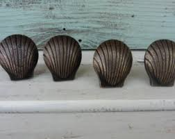 Real Seashell Cabinet Knobs by Shell Knobs Etsy