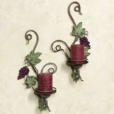 Provide Soft Lighting For Your Vintage Themed Decor With The Vina Bella Wall Sconce Set Decorative Accents Are Made Of Metal And Finished In Bronze