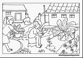 Surprising Gardening Coloring Pages With Garden Coloring Pages