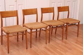 100 Birch Dining Chairs Georg Leowald Wilkhahn An Orange Moon UBER