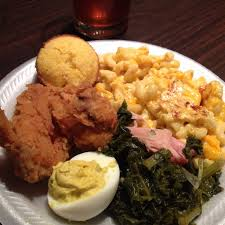 Soul Food Fried Chicken Dinner