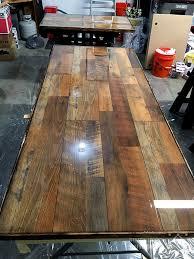 diy laminate flooring table top desk simplified building