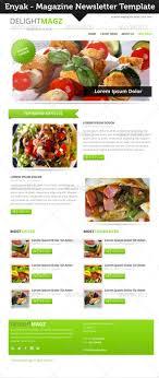 newsletter cuisine enyak newsletter by indiefreelancer graphicriver
