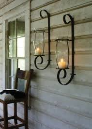 hurricane candle sconces wall foter