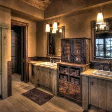 Modern Rustic Bathrooms Reclaimed Wood Bathroom Vanity With An Open ... Bathroom Rustic Bathrooms New Design Inexpensive Everyone On Is Obssed With This Home Decor Trend Half Ideas Macyclingcom Country Western Hgtv Pictures 31 Best And For 2019 Your The Chic Cottage 20 For Room Bathroom Shelf From Hobby Lobby In Love My Projects Lodge Vanity Vessel Sink Small Vanities Cheap Contemporary Wall Hung