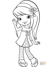 Click The Strawberry Shortcake Cherry Jam Coloring Pages