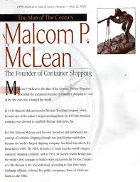 Malcom McLean - Sculptures By Jo Hess