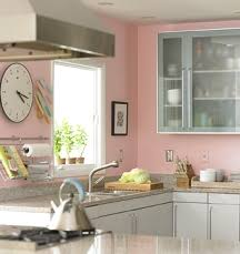 Pink Paint Colors For Kitchen Walls