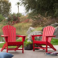 Outdoor Patio Seating Garden Adirondack Chair In Red Heavy ... Outdoor Patio Seating Garden Adirondack Chair In Red Heavy Teak Pair Set Save Barlow Tyrie Classic Stonegate Designs Wooden Double With Table Model Sscsn150 Stamm Solid Wood Rocking Westport Quality New England Luxury Hardwood Sundown Tasure Ashley Fniture Homestore 10 Best Chairs Reviewed 2019 Certified Sconset Polywood Official Store