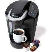 Keurig Elite K40 Single Serve Coffeemaker Brewing System Black