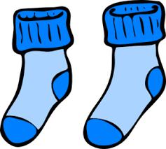 Boys Socks Clipart