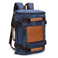 originaux multifonction toile sac à dos de voyage sac hommes