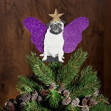 Christmas Tree Toppers by Pug Christmas Tree Topper By Spotted Notonthehighstreet Com
