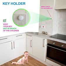 Magnetic Locks For Kitchen Cabinets by Baby Proof Magnetic Cabinet Door U0026 Drawer Safety Locks U2013 12