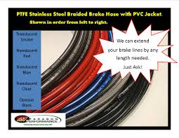 100 Chevy Truck Brake Lines Line Extension By Four Inches This Is Per Brake Line In Kit