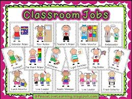 This Is What My Chart Looks Like In Classroom I Hung It With A Ribbon And Just Love The Kids Are Excited To Pick Their First Jobs Week