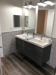 ikea bathroom vanity minimalistisch badezimmer ta