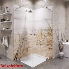 duschrückwand meerblick wandverkleidung duschrückwand