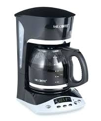 White Mr Coffee Maker Coffeemaker Makers On Sale Cup