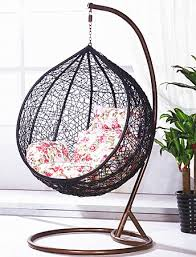 2018 Outdoor Furniture Relaxing Patio Round Hanging Egg Swing Chair