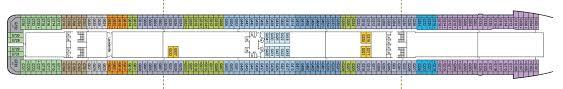 Ms Westerdam Deck Plans by Western Europe 2018 05 20 Britannia Vision Cruise