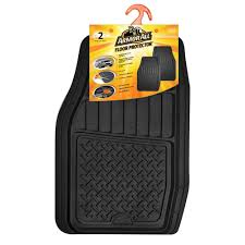 Armor All Black Heavy Duty Rubber 19 In. X 29 In. Car Mat (2-Piece ... Universal Fit 3piece Full Set Ridged Heavy Duty Rubber Floor Mat Armor All Black 19 In X 29 Car 4piece John Deere Vinyl 31 18 Mat0326r01 Bestfh Truck Tan Seat Covers With Combo Alterations Mats Red Metallic Design On Vehicle Beautiful For Weather Toughpro Infiniti G37 Whosale Custom For Subaru Forester Legacy 19752005 Bmw 3series Husky Liners Heavyduty