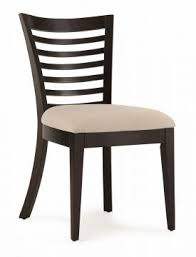 Casana Beckett Slat Side Chair In Dark Birch Set Of 2 CLOSEOUT CLEARANCE