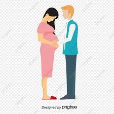 Marido Y Mujer Amor Las Mujeres Embarazadas Mujer