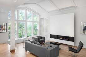 100 Modern Interiors Impressive Home Expansion Offers Huge Living Room Window And