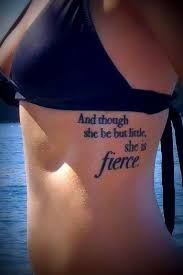 Fierce Tattoo Quotes For Women
