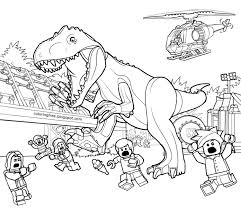 Belle Coloriage De Lego Jurassic World Blue ViewLetterCO