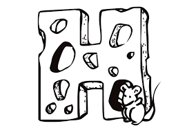 Letter H Printable Coloring Pages