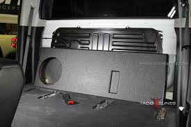 100 Subwoofer Box For Trucks 2014 Toyota Tundra CrewMax Ported Box