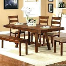 Rustic Dining Room Table Sets Modern Wood Chairs