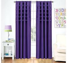 Purple Ruffle Blackout Curtains by July 2017 U2013 Evideo Me