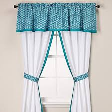 Bed Bath And Beyond Curtains And Valances by Anthology Kaya Window Curtain Panels And Valance In Blue Bed