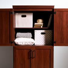 South Shore Morgan Storage Cabinet Black by South Shore Morgan 4 Door Shaker Armoire Walmart Canada