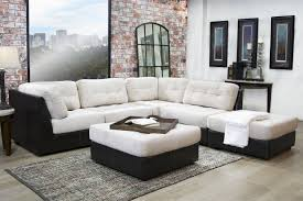 quantum tan 5 piece sectional sale mor furniture for less