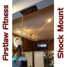 Heavy Bag Ceiling Mount Track by The Firstlaw Fitness I Beam Clamp Is The Strongest One You Can Buy