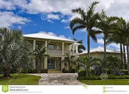100 Beach House Landscaping Stock Image Image Of Florida Sunny Real
