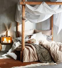 wohnen im safari style schlafzimmer inspirationen