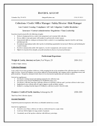 Credit Collections Manager Resume Sample Fresh Best Solutions