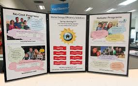 Tri Fold Display Board San Diego Copy2copy Professional Presentation