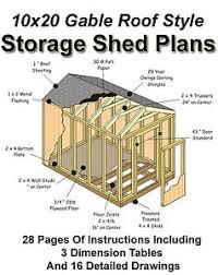 10x20 Storage Shed Plans by Info 10x20 Shed Plans Free Haddi